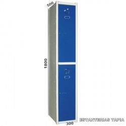 taquilla modular 2 puertas