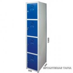 taquilla modular 4 puertas