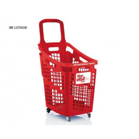 cesta supermercado 65 L