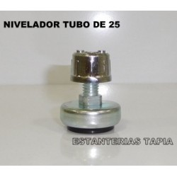 soporte rotula tubo 25