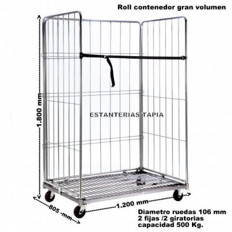 Roll contenedor de gran volumen
