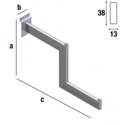 perchero escalera de 41 cm