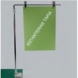 soporte banderola imantado