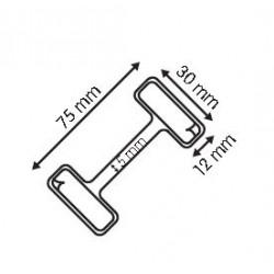 wobbler para stoper en aluminio flexible