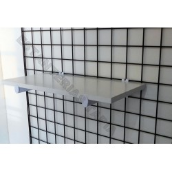 soporte estante para madera cristal 30 cm