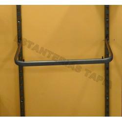 barra perchero u 60x35 hierro envejecido